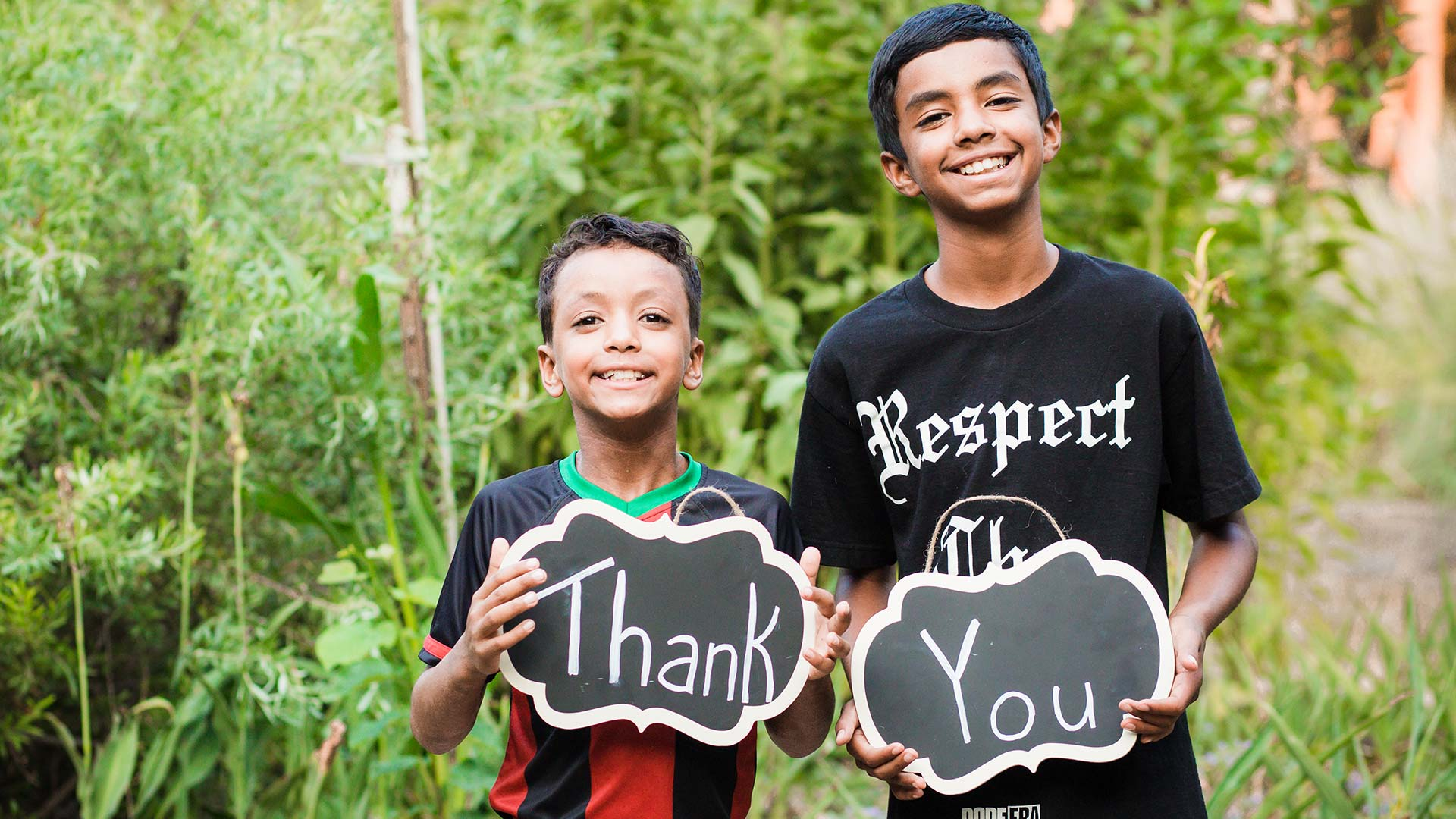 Boys Thank You